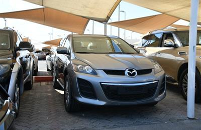 MAZDA CX7 MODEL 2010 - GREY - 176000 KM - V6 - GCC