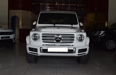 BRAND NEW MERCEDES-BENZ G500- 2020- WHITE- GCC SPECS