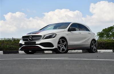 2018 Mercedes-Benz A 250 GCC SPECS - GARGASH - WARRANTY -...