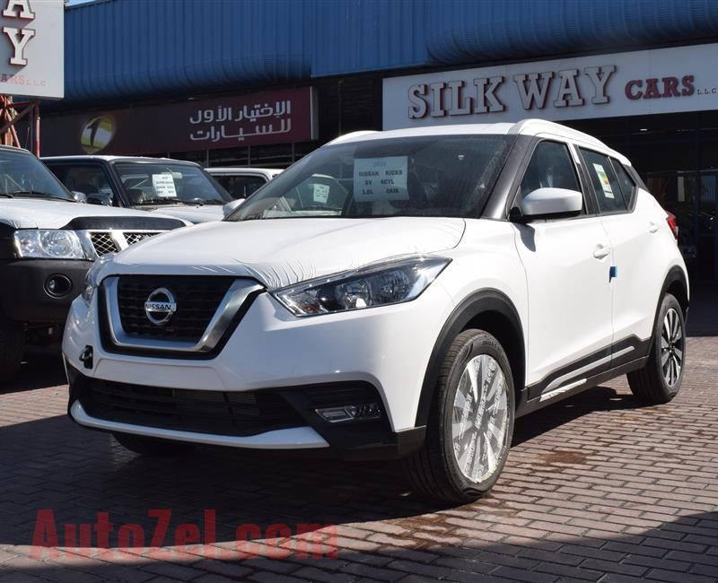 BRAND NEW NISSAN KICKS SV- 2020- WHITE- GCC SPECS