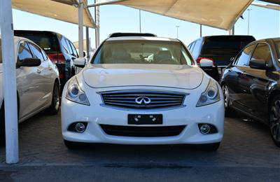 INFINITI G37X MODEL 2011 - WHITE - V6 - CAR SPECS IS...