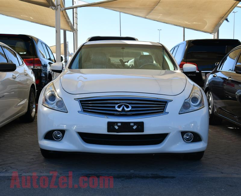 INFINITI G37X MODEL 2011 - WHITE - V6 - CAR SPECS IS AMERICAN