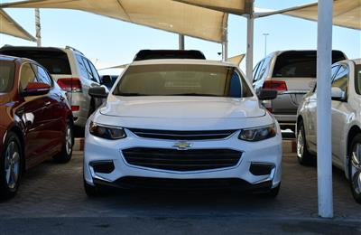 CHEVROLET MALIBU MODEL 2016 - WHITE - 100,000 KM - V6 -...