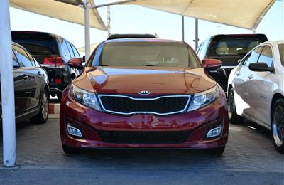 KIA OPTIMA MODEL 2014 - RED - 79,000 MILES - V4 - CAR...
