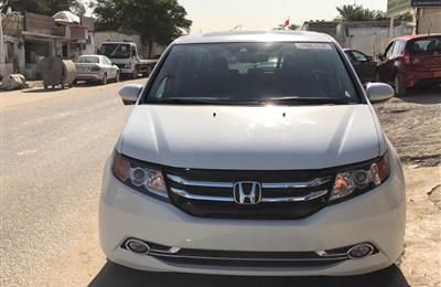 2017 Honda Odyssey EXL White Full Option For Sale