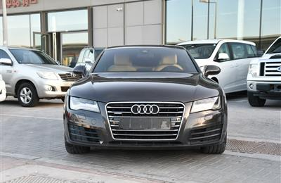 AUDI A7 3.0 T MODEL 2011 GREY  - 190,000 KM - V6 - GCC