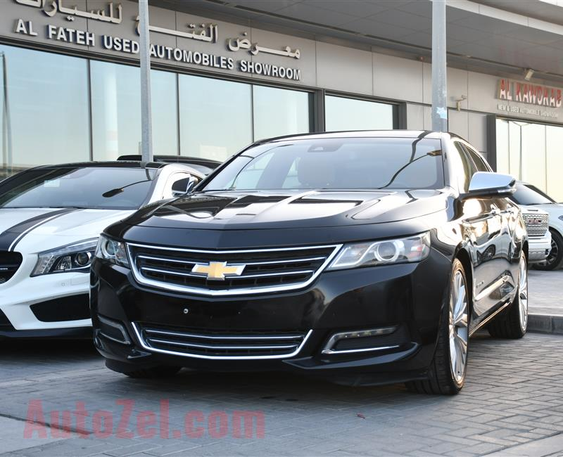CHEVROLET IMPALA MODEL 2015 - BLACK - 75,000 KM - V6 - GCC