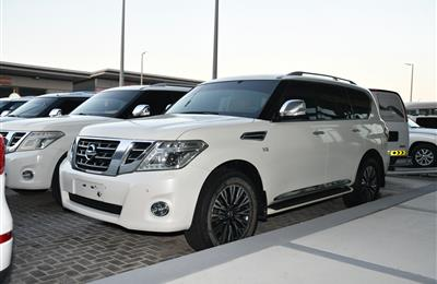 NISSAN PATROL TITAINUM MODEL 2017 - WHITE - 156,000 KM -...