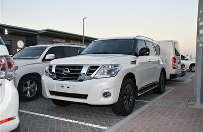 NISSAN PATROL SE MODEL 2019 - WHITE - 47,000 KM - V6 - GCC...