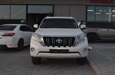 TOYOTA LAND CRUISER PRADO- 2017- WHITE- 68 000 KM- GCC...