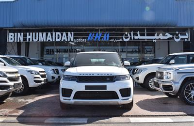 BRAND NEW RANGE ROVER SPORTS V8- 2019- WHITE- GCC SPECS