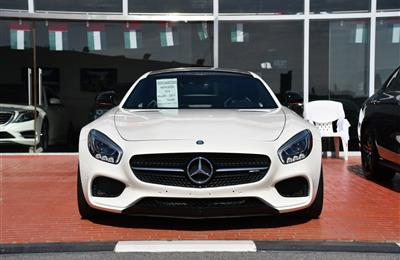 MERCEDES-BENZ GTS- 2017- WHITE- 16 000 KM- CANADIAN SPECS