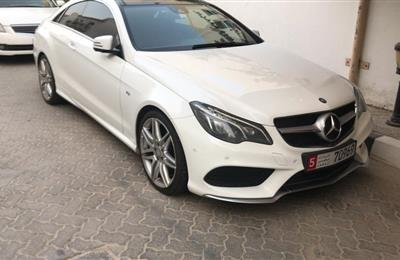 2014 mercedes E400 coupe