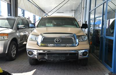 TOYOTA TUNDRA (SINGLE DOOR)- 2010- GOLD- 66 000 KM-...