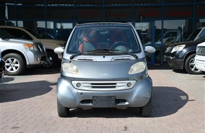 SMART- 2001- GRAY- 56 000 KM- GCC SPECS