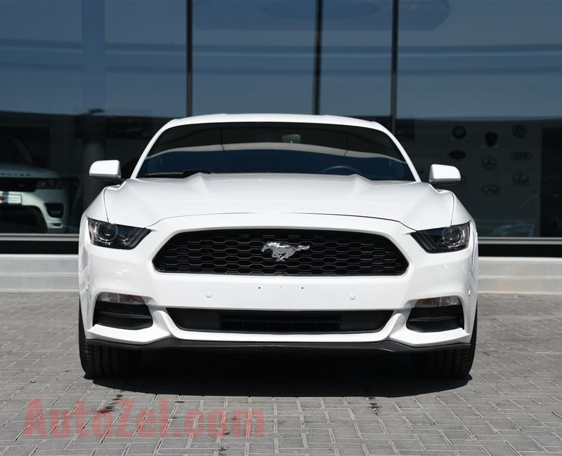 FORD MUSTANG MODEL 2017 - WHITE - 31,000 MILE - V6 - CAR SPECS IS AMERICAN