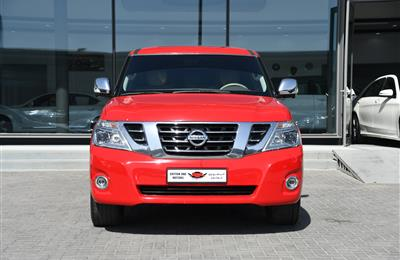 NISSAN PATROL PLATINUM MODEL 2010 - RED - 290,000 KM - V8...