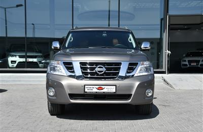 NISSAN PATROL PLATINUM MODEL 2015 - BROWN - 150,000 KM -...