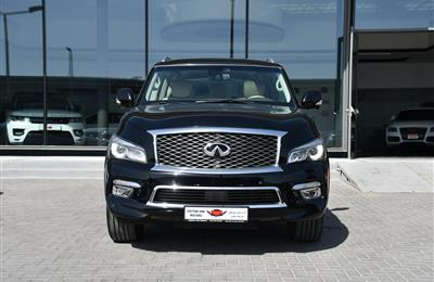 INFINITI QX80  MODEL 2015 - BLACK   -170000 KM - V8 -  ...