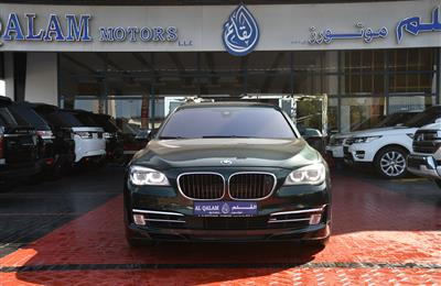BMW 750Li- 2013- GREEN- 143 000 KM- GCC SPECS