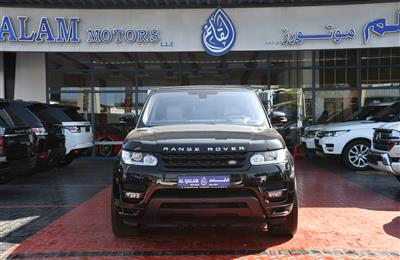 RANGE ROVER SPORT SUPERCHARGED- 2016- BLACK- 34 000 KM-...