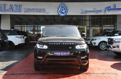 RANGE ROVER SPORT SUPERCHARGED- 2015- BLACK- 113 000 KM-...
