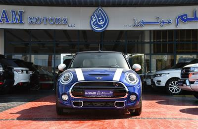 MINI COOPER- 2020- BLUE- 3 000 KM- GCC SPECS