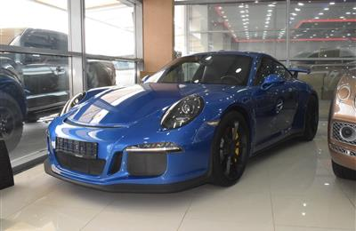 PORSCHE GT3 MODEL 2015 - BLUE - 36,000 KM - V8 - GCC