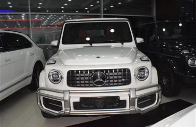 MERCEDES G63 MODEL 2019 - WHITE - 27,000 KM - V8 - GCC
