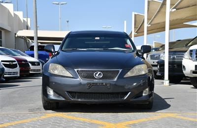 LEXUS IS250- 2007- GRAY- 218 000 KM- AMERICAN SPECS