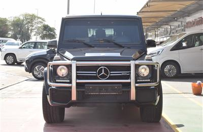 MERCEDES G63 MODEL 2016 - BLACK - 66000 KM - V8 - GCC