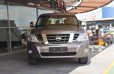 NISSAN PATROL MODEL 2014 - GREY - 65,000 KM - V8 - GCC
