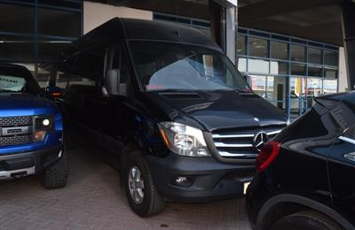 MERCEDES-BENZ SPRINTER- 2014- BLACK- 98 000 KM- GCC SPECS
