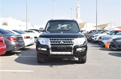 MITSUBISHI  pajero MODEL 2017 - black  - 112 000 KM - V6 -...