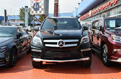 MERCEDES-BENZ GL500- 2014- BLACK- 90 000 KM- GCC SPECS