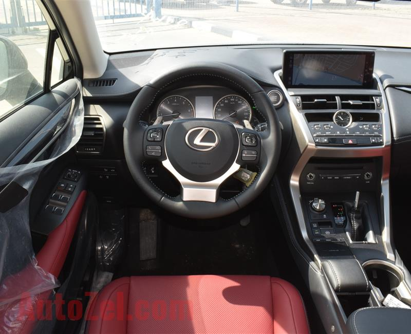 BRAND NEW LEXUS NX300- 2020- BLACK- GCC SPECS