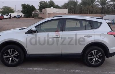 Rav4 2018 GXR GCC specs Under warranty, agency condition...