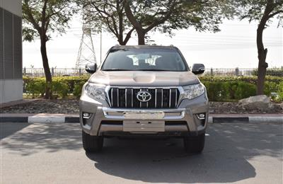 BRAND NEW TOYOTA LAND CRUISER PRADO- 2019- GOLD- GCC SPECS