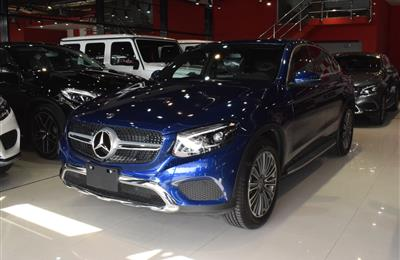 NEW MERCEDES-BENZ GLC300- 2019- BLUE- GCC SPECS