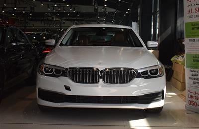 BRAND NEW BMW 520i- 2019- WHITE- GCC SPECS