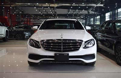 BRAND NEW MERCEDES-BENZ E200- 2019- WHITE- GCC SPECS