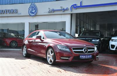 MERCEDES-BENZ CLS350- 2012- RED- 86 000 KM- GCC SPECS