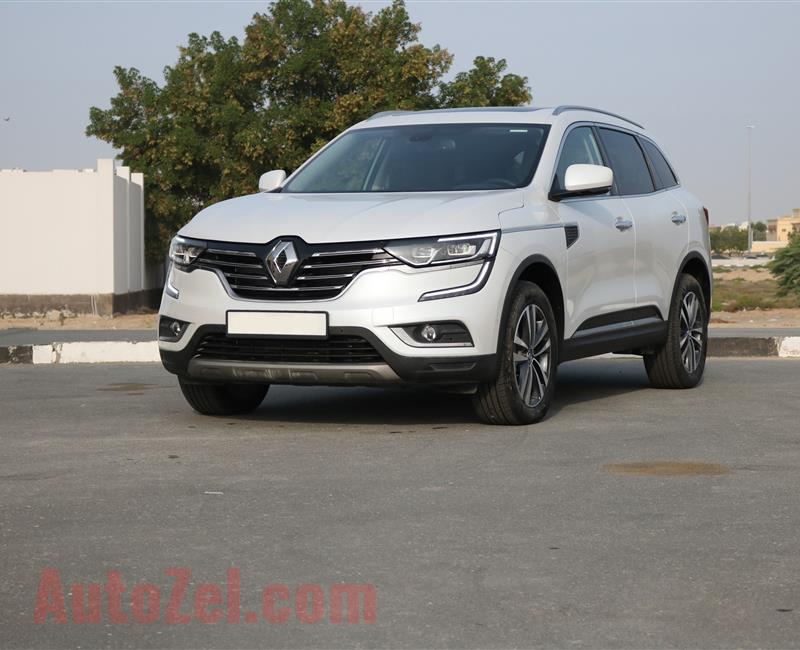 RENAULT KOLEOS 4X4 TOP OF THE RANGE 3 YEAR WARRANTY/SELF PARKING/PANORAMIC SUNROOF/BOSE SOUND SYSTEM