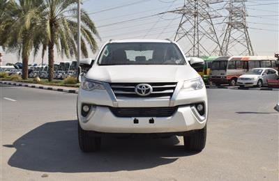 BRAND NEW TOYOTA FORTUNER- 2019- WHITE- GCC SPECS- 6...