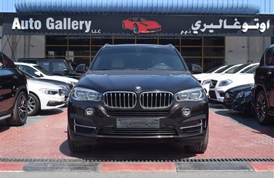 BMW X5- 2016- BLACK- 105 000 KM- GCC SPECS