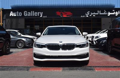 BRAND NEW BMW 520i- 2019- WHITE- V4- GCC SPECS