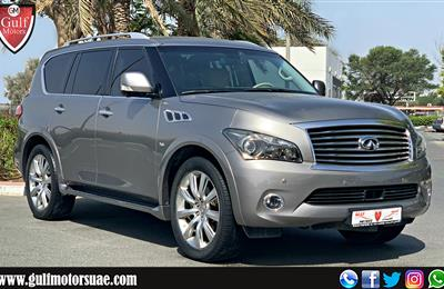 INFINITI QX80 - 2014 - EXCELLENT CONDITION - LOW MILEAGE...