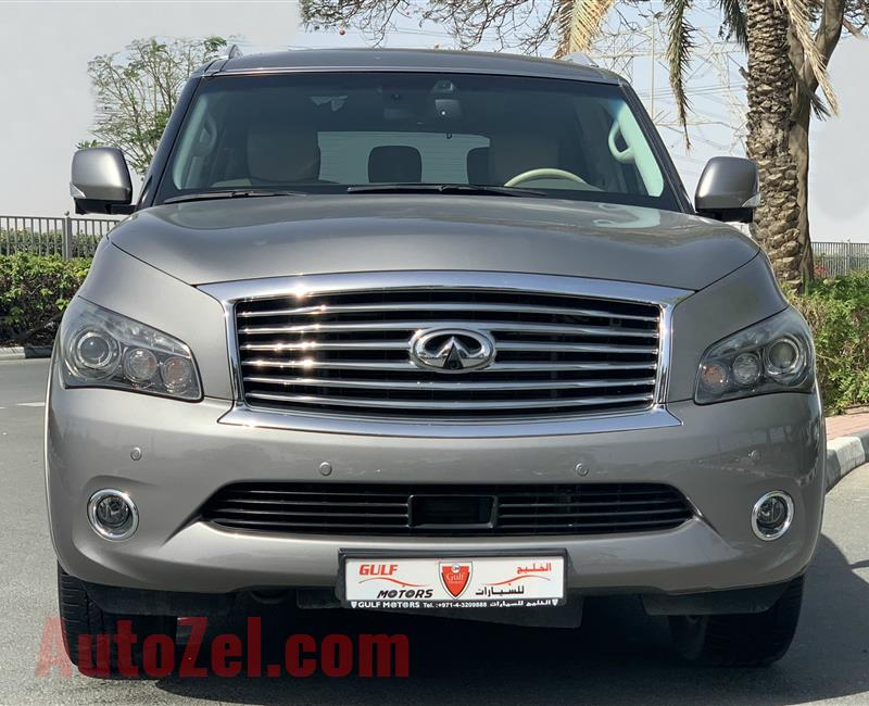 INFINITI QX80 - 2014 - EXCELLENT CONDITION - LOW MILEAGE - BANK FINANCE AVAILABLE