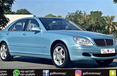 GCC - MERCEDES-BENZ SCLASS - S500 - 2004 - V8 - EXCELLENT...
