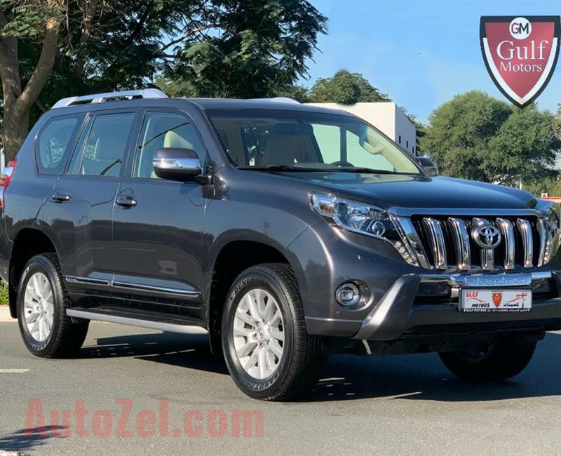 GCC TOYOTA PRADO VXR V6 - 2016 - FULL OPTION - EXCELLENT CONDITION - BANK FINANCE AVAILABLE